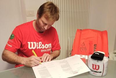 Padel, Marcelo Capitani firma con Wilson