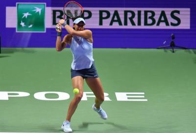 WTA Dubai: Trevisan si arrende a Garcia
