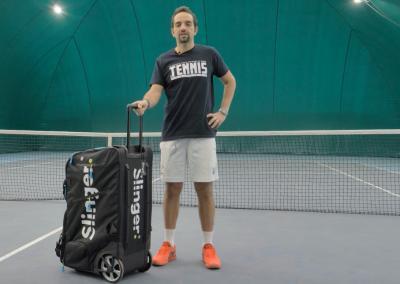 Slinger bag: la nuova macchina lanciapalle trasportabile