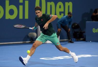 """Federer: """"Dubai? Non ho deciso. Per essere al top su erba dovrò giocare su terra"""""""