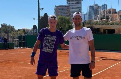 Da Instagram alla realtà: Djokovic si allena con Rune