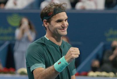 "L'abate Federer: ""Spero che Novak Djokovic non superi Roger"""