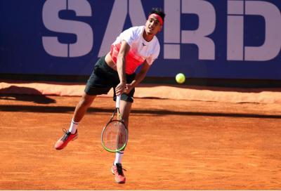 Sardegna Open, Sonego domina Simon e approda ai quarti di finale