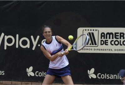 WTA Bogotà, Gatto-Monticone si arrende agli ottavi a Zidansek
