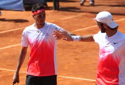 Sardegna Open, Sonego e Vavassori in finale di doppio con un walkover: Evans si ritira