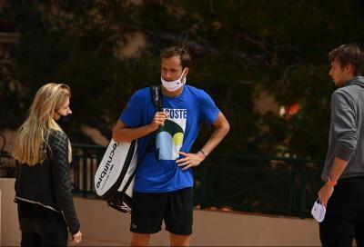 Daniil Medvedev positivo al coronavirus