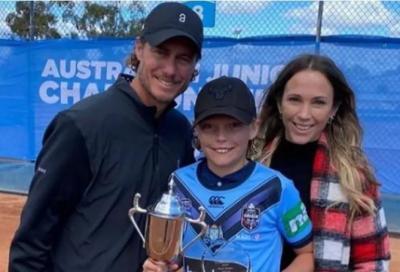 Il figlio di Hewitt è campione d'Australia e senza perdere set