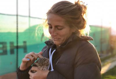 Giorgia Marchetti e l'avventura nel padel: