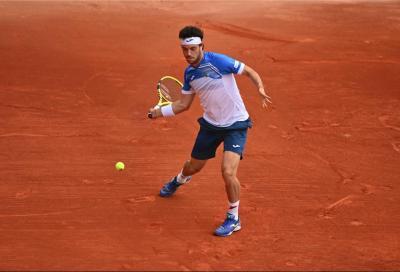 Qualificazioni Mutua Madrid Open: Cecchinato e Travaglia vincono all'esordio