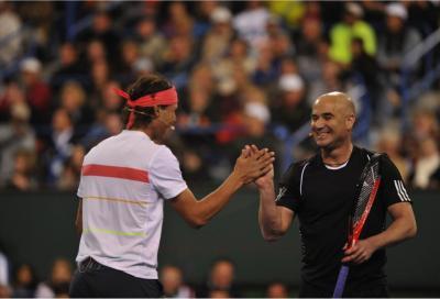 """Andre Agassi: """"I giovani devono accelerare il passo. I big 3? Un dominio pazzesco"""""""
