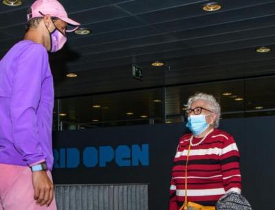 """""""Ho l'Alzheimer e prima di dimenticare, vorrei incontrare Nadal"""": il sogno di una 95enne diventa realtà"""