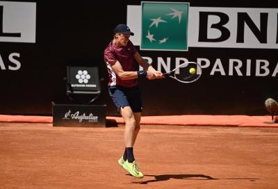 Roma, ordine di gioco di mercoledì 12 maggio: Sinner-Nadal in serale