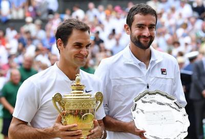"""Cilic su Federer: """"Roger è incredibile. Non sembra che abbia quasi 40 anni"""""""