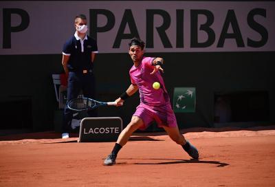 Roland Garros, Fabio Fognini sconfitto da Delbonis in tre set