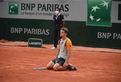 Roland Garros: Medvedev si conferma, Davidovich Fokina dà spettacolo