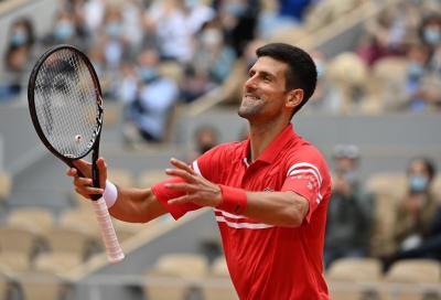 """Djokovic su Musetti: """"Gioca benissimo a tennis ed è una persona fantastica"""""""