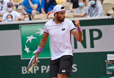 Roland Garros, l'ordine di gioco di mercoledì 9: Berrettini sfida Djokovic
