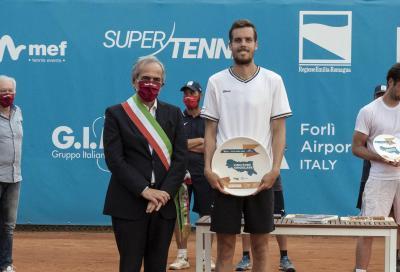 Challenger Forlì, Moraing vince il titolo annullando due match point