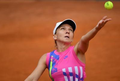 Simona Halep è arrivata a Wimbledon per difendere il titolo