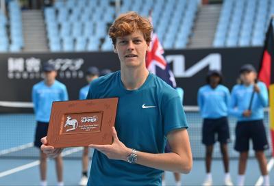 Jannik Sinner, successi e record della nuova stella del tennis italiano
