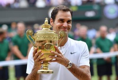 Roger Federer è arrivato a Wimbledon per stupire ancora