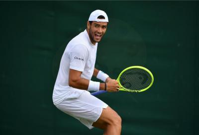 Wimbledon, Matteo Berrettini prevale su Guido Pella in quattro set
