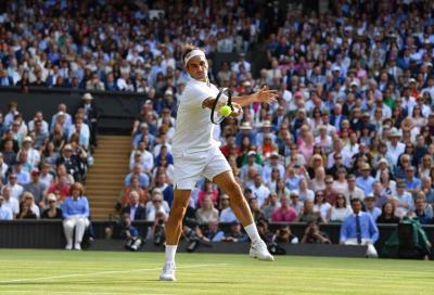 Wimbledon: Federer vince e convince, Mager fuori con Kyrgios