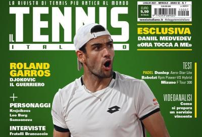Il Tennis Italiano di luglio 2021 è in edicola