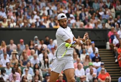 """Wimbledon, Matteo Berrettini: """"Il mio lavoro non è finito. Adesso voglio il trofeo"""""""