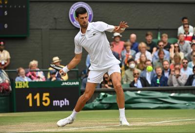 Wimbledon, tutto come da pronostico: Djokovic raggiunge Berrettini in finale