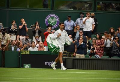 """Novak Djokovic: """"Berrettini è un grandissimo giocatore, sarà una vera battaglia"""""""