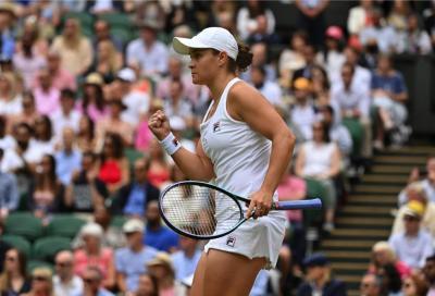 Wimbledon, Ashleigh Barty è la nuova campionessa