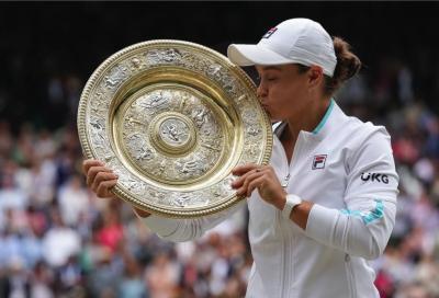 """Wimbledon, Ashleigh Barty: """"Ho realizzato il mio sogno più grande"""""""
