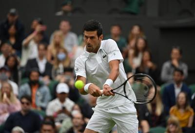 Un grande Djokovic batte un super Berrettini: il campione di Wimbledon è ancora lui