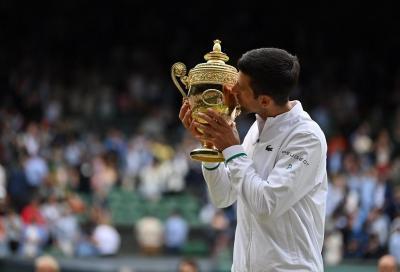 """Novak Djokovic: """"Berrettini? Difficilissimo affrontarlo sull'erba. L'età è solo un numero"""""""