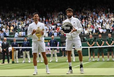 Numeri da record per Djokovic-Berrettini: è l'incontro più visto di sempre su Sky