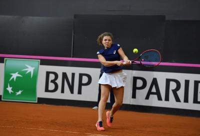 WTA Losanna: Bronzetti stupisce ancora, Paolini saluta il torneo