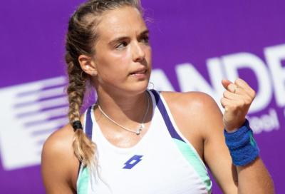 WTA Palermo, Bronzetti domina la maratona contro Min: 6-3 6-1 in due ore