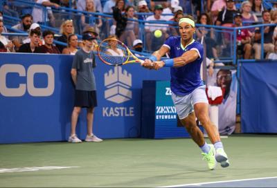 """ATP Washington, Nadal si arrende a Harris: """"A tratti ho giocato meglio rispetto al debutto"""""""