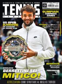 Il Tennis Italiano di agosto / settembre è in edicola e in formato digitale