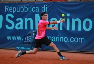 Challenger San Marino: derby Cecchinato-Nardi agli ottavi, Marcora sfida Kotov. Il programma di mercoledì 11 agosto