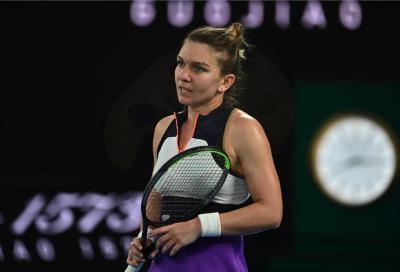 """Western & Southern Open, Simona Halep: """"Ho un piccolo strappo all'adduttore destro. Spero di rientrare per gli Us Open"""""""