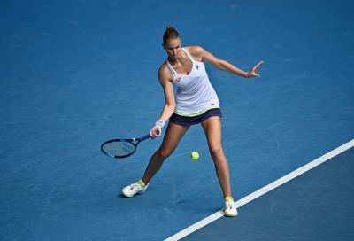 Western & Southern Open, Pliskova sconfigge Badosa e vola in semifinale