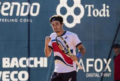 Challenger Barletta, Zeppieri vince il derby e il torneo: Cobolli battuto in tre set