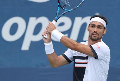 US Open: Fognini si fa rimontare da Pospisil. La wild card Svajda sorprende Cecchinato