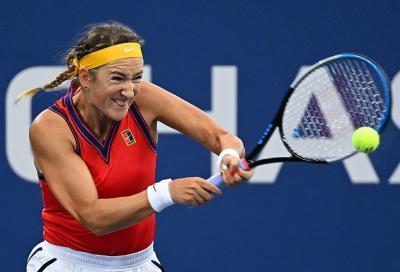US Open, Paolini vende cara la pelle contro Azarenka: gli highlights (VIDEO)