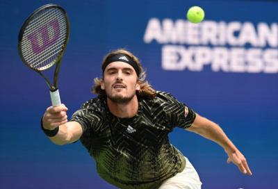 """US Open, Tsitsipas elogia Alcaraz: """"Ha giocato senza paura, la sua velocità di palla è incredibile"""""""