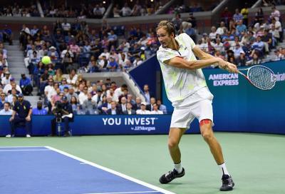 US Open: Medvedev passa in tre set, non si ferma Van De Zandschulp