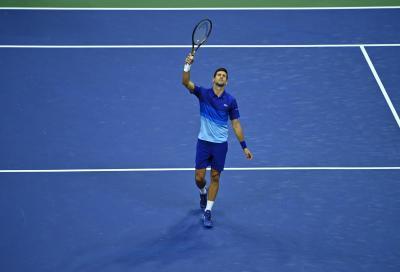 US Open, Djokovic supera anche lo scoglio Brooksby e raggiunge Berrettini ai quarti