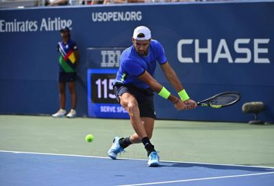 Us Open, Matteo Berrettini dopo la vittoria con Otte: